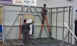 Строительство торговых павильонов в Пензе
